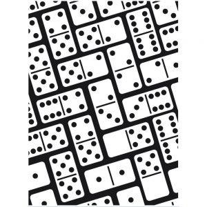 Darice Embossing Folder - Dominoes
