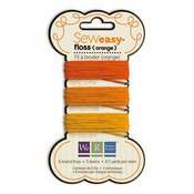 We R Memory Stitching Threads Orange