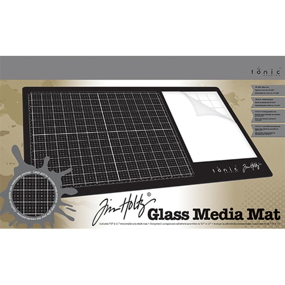 tim holtz glass media mat the stampers hut